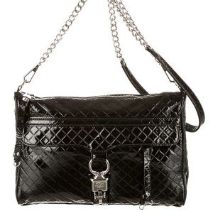 Rebecca Minkoff Patent Leather Quilted Mac